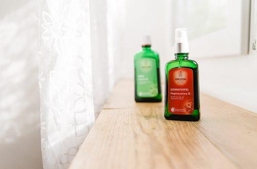 Granatapfel Öl zur Behandlung
